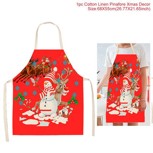 Merry Christmas Decorations For Home Cristmas Gift Christmas Ornaments Santa Claus Christmas Kitchen Decoration New Year 2020