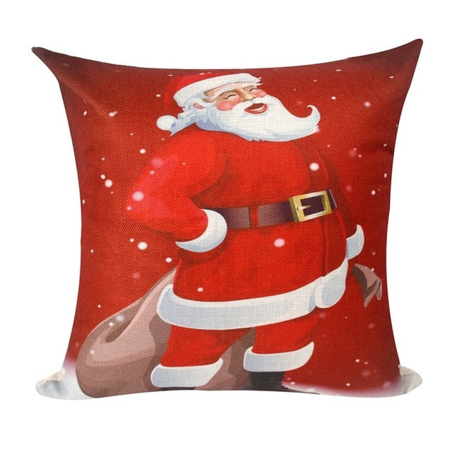 Merry Christmas Pillowcase Ornaments Christmas Decoration For Home Cristmas Deco Noel Navidad 2019 New Year Gift 2020 Xmas Natal