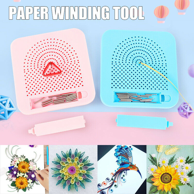 Paper Quilling Board  Grid Guide For Paper Folding  Crafting Winder Roll Square Craft Tool