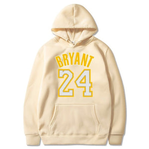 Kobe Bryant Hoodie Kobe Jersey 24 Black Mamba Hoodies New Man Sweatshirts Fashion Couple Cloth Unisex Hooded Sweatshirt