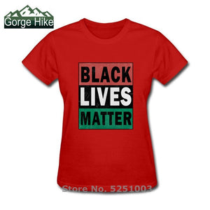 New arrival Black Lives Matter Printed Unisex t shirt Men/Women T shirts summer casual tops Female teeshirt Harajuku Streetwear