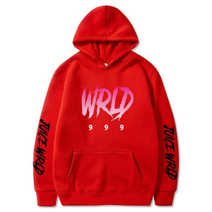 Hoodies Men Sweatshirts Autumn Winter Hooded Harajuku Hip Hop Casual Hoodie High quality fleece pullovers Juice WRLD Hoody