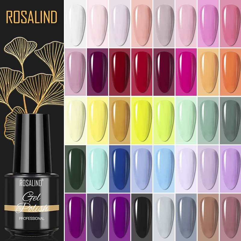 Gel Polish Semi Permanent Gel Varnishes All For Nails Manicure Classic Color Gel Nail Polish