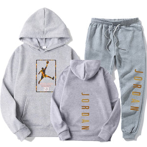 Winter Brand Tracksuits Men's sets Long Sleeve Pullover + Jogging Trousers 2pcs Sets Fitness Running Suits sportswer Male