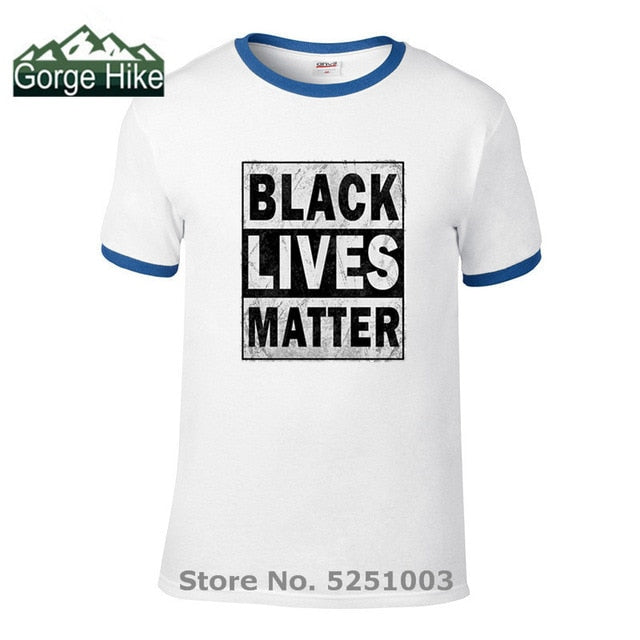 "Hip Hop Men's T Shirts New arrival ""Black Lives Matter"" Unisex t shirt Men/Women T shirt hipster summer casual top Boy' teeshirt"