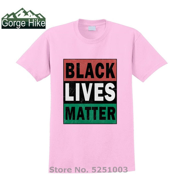 New arrival Black Lives Matter Printed Unisex t shirt Men/Women T shirt summer casual top homme teeshirt Men Harajuku Streetwear