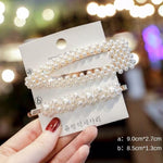 Pearl  Hair Clips Barrette Set  Accessories handmade Hairgrip