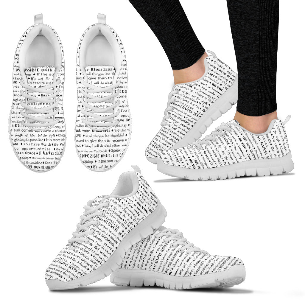 Inspirational Women's Sneakers