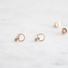 Mini Circle Stud Earring