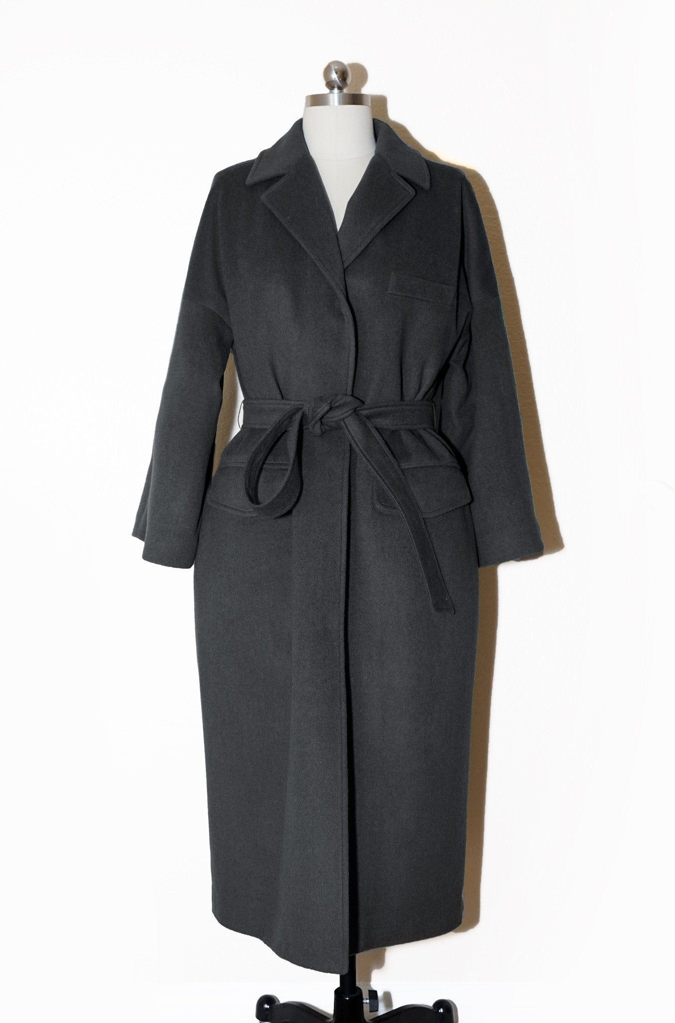 Boxy Black Coat