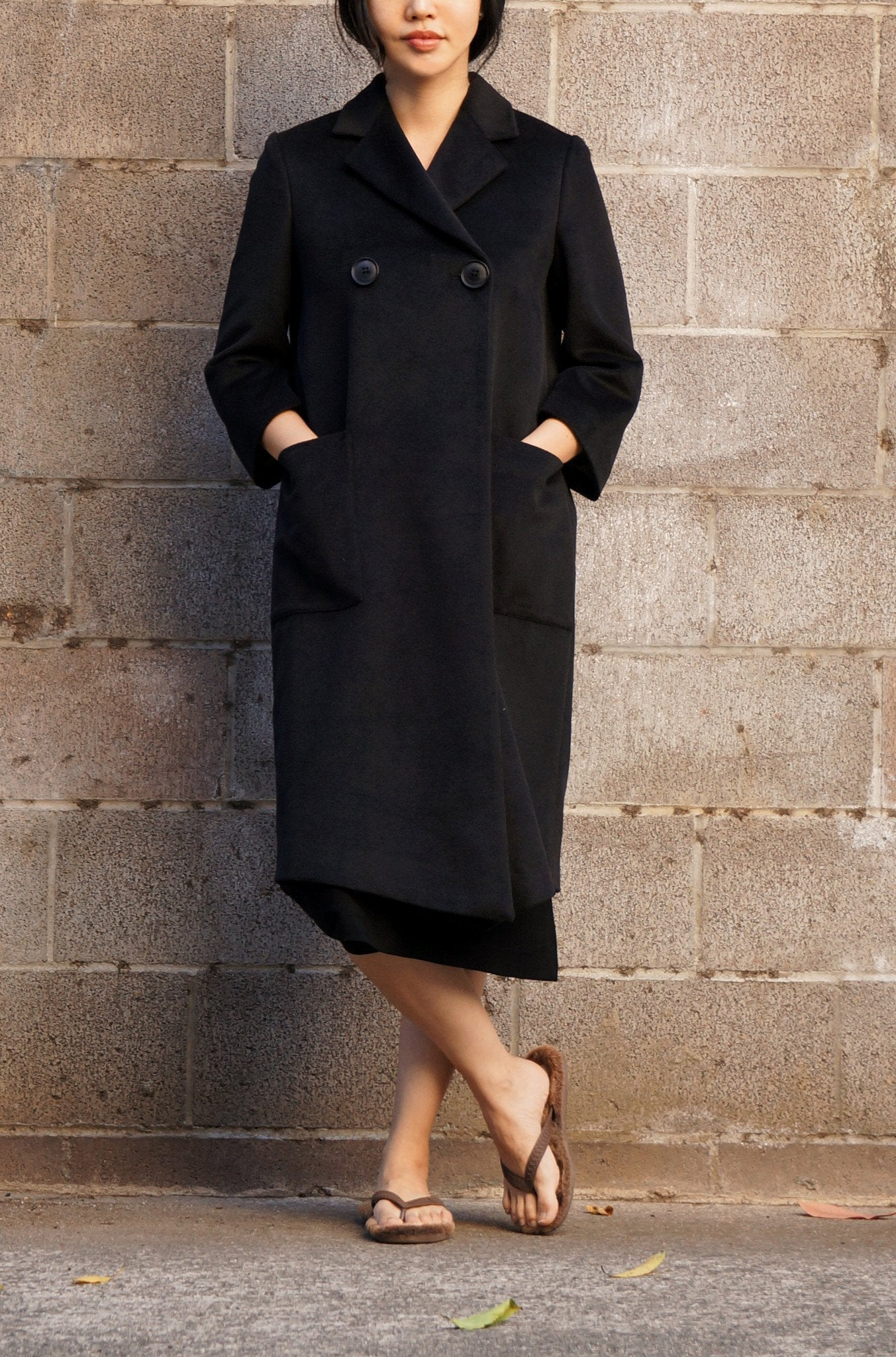 1960 Coat for Mom (BK)