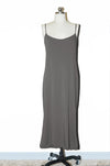 Trim Cami Dress/ Charcoal