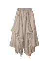 Multi Signature Skirt in Khaki