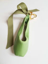 Ballerina keyring Apple greeen