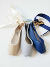 Ballerina keyring Dusty Blue
