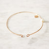 Pure Pearl Bangle Bracelet