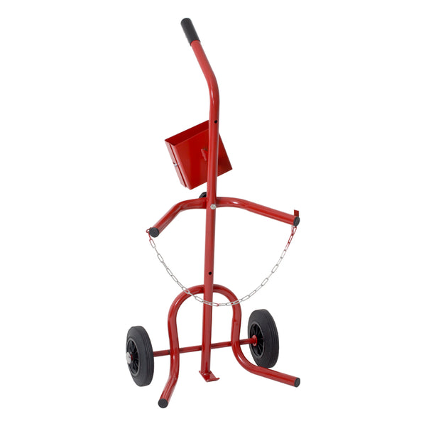 Shrink Gun & Gas Cylinder Trolley, Adjustable For 13, 19 & 47Kg