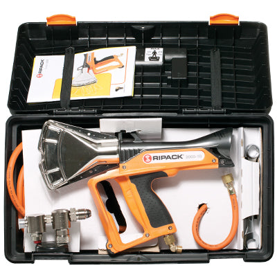 Ripack High Output Pallet Shrink Gun With Regulator, 8M Hose & Carry Case