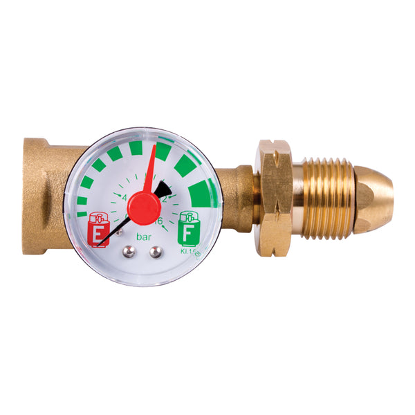 Combined Contents Gauge & Safety Valve
