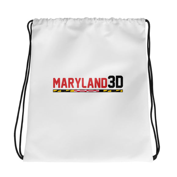 Maryland 3D Drawstring bag