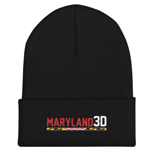 Maryland 3D Cuffed Beanie
