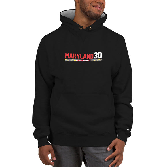 Maryland 3D Champion Hoodie (Dark)