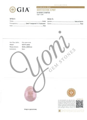 Rose Quartz Yoni Egg and Yoni Wand