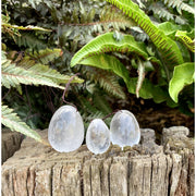 Clear Quartz Yoni Eggs