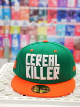 Load image into Gallery viewer, New Era 5950 - Cereal Killer - Wordmark Green