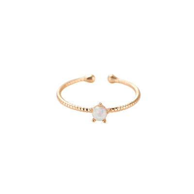 Lila Ring Gold - Claide.de