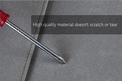 No More Scratches Apple MacBook leather laptop protector is made of high quality materials and doesn't scratch or tear