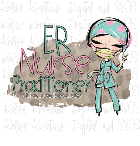 ER Nurse Practitioner PNG
