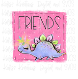 Best Friends Dino Girls mini bundle  PNG
