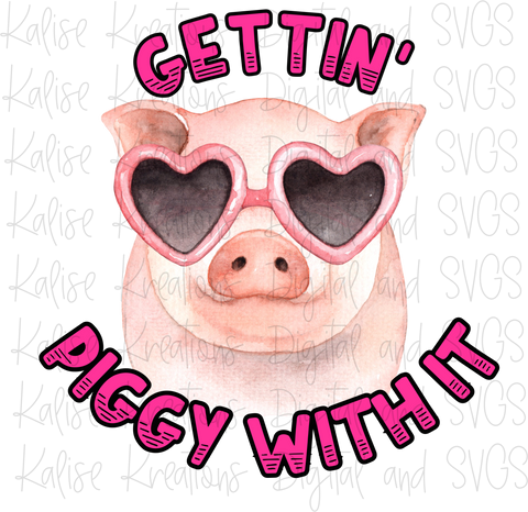 Gettin' piggy with it PNG