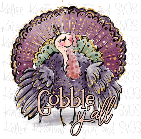 Gobble Y'all PNG