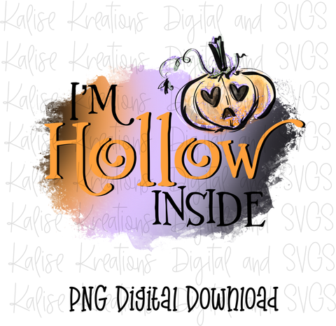 I'm Hollow Inside PNG