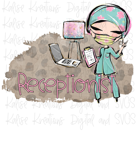 Receptionist PNG