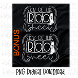 Boo Sheet Bundle PNG
