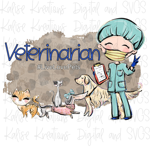 Veterinarian Male PNG