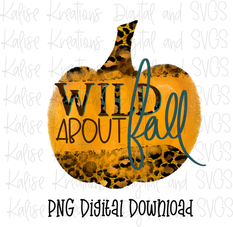 Wild About Fall PNG