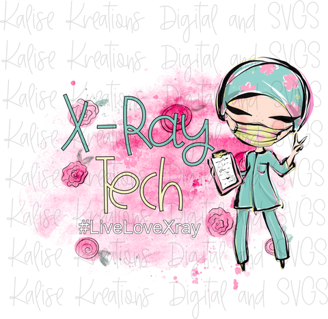 X-Ray Tech Pink PNG