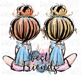 Best Friends and Sister Bundle PNG