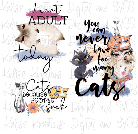 Cats Bundle PNG