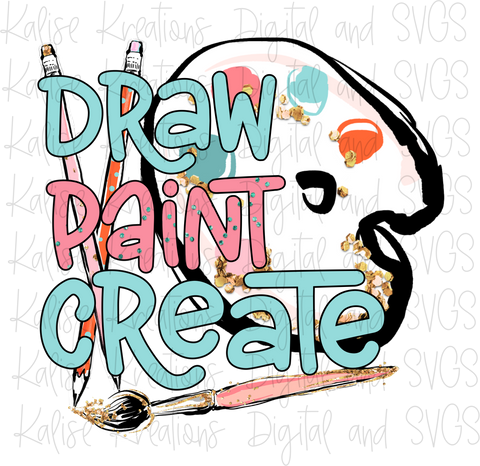 Draw, Paint, Create PNG