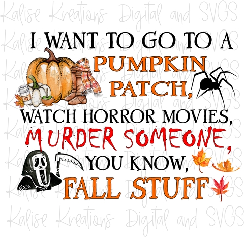 Fall Stuff without pumpkin spice Latte PNG