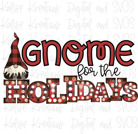 Gnome for the Holidays PNG