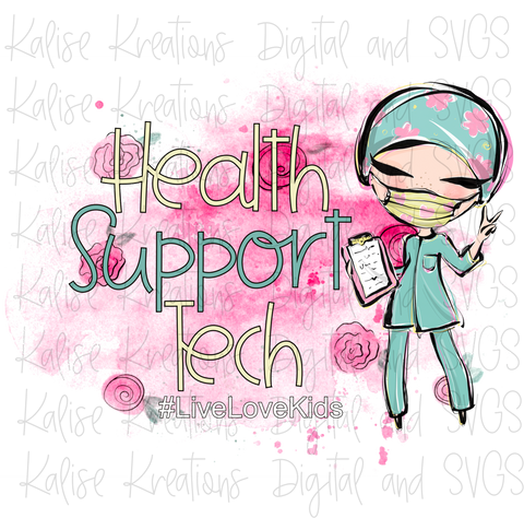 Health Support Tech Pink PNG
