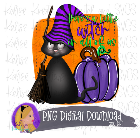There's a little witch in all of us PNG