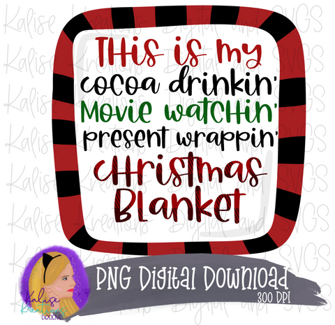 This is my Christmas blanket PNG