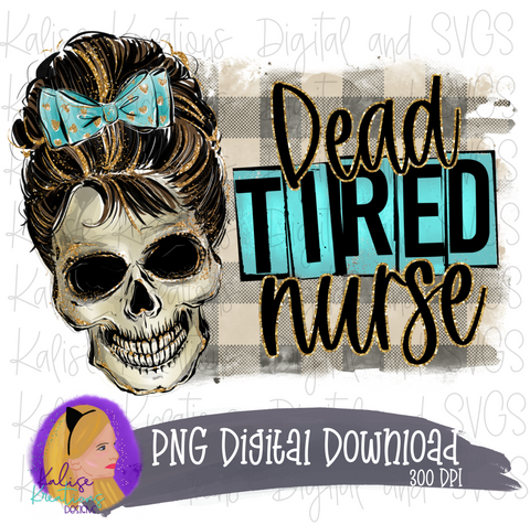 Dead tired Nurse PNG